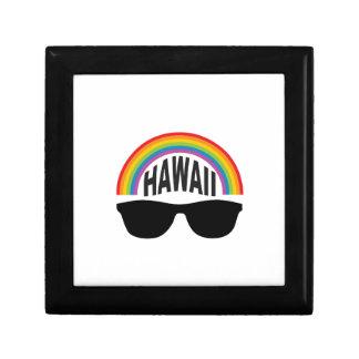 hawaii head art gift box