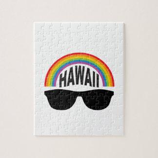 hawaii head art jigsaw puzzle