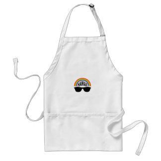 hawaii head art standard apron