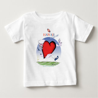 hawaii head heart, tony fernandes baby T-Shirt