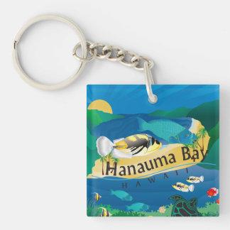 Hawaii Honu and Humuhumunukunukuapua'a Keychain