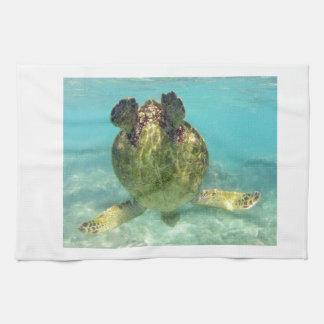 Hawaii Honu Turtle Kitchen Towel