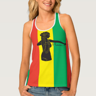 Hawaii Hula Dancer Tank Top
