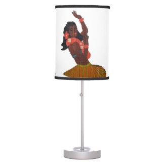 Hawaii Hula Girl Table Lamp