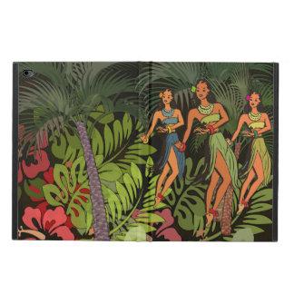 Hawaii Hula Vintage Art Print ipad graphic design