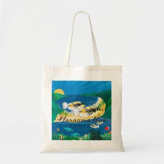 Hawaii Humuhumunukunukuapua'a Fish Tote Bag