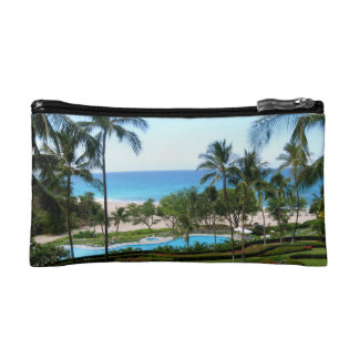 Hawaii Island Beach Makeup Bag