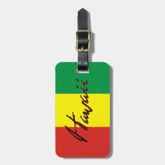 Hawaii Island Luggage Tag
