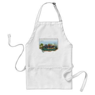 Hawaii island standard apron