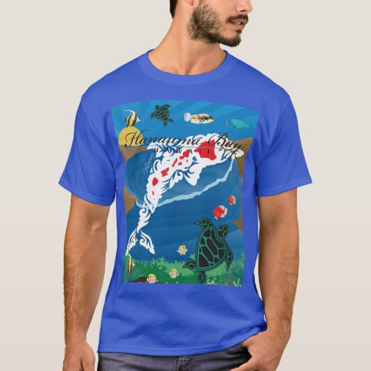 Hawaii Islands Aloha Dolphin T-Shirt