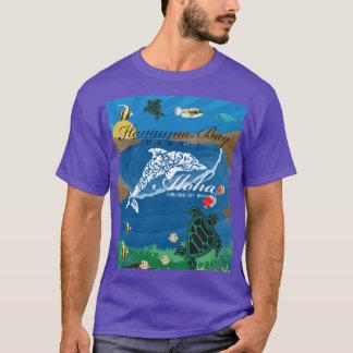 Hawaii Islands Aloha Dolphin T-Shirt