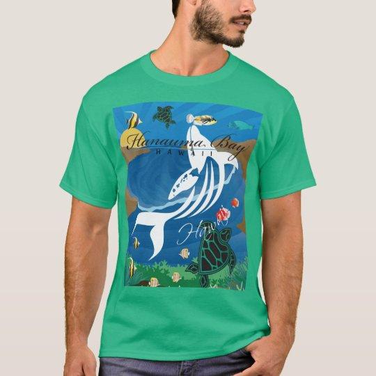 Hawaii Islands Aloha Whale T-Shirt