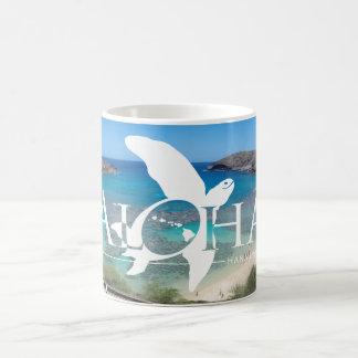 Hawaii Islands and Hawaii Turtle Magic Mug