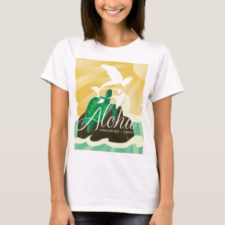 Hawaii Islands and Turtle 180 T-Shirt