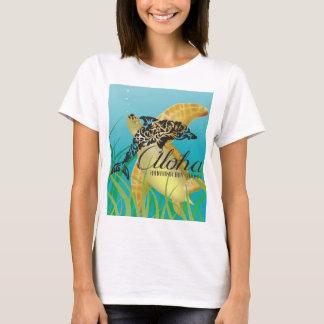 Hawaii Islands and turtle 187 T-Shirt