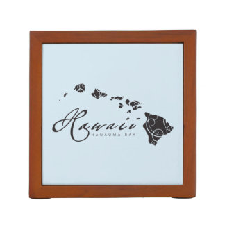 Hawaii Islands Desk Organizer