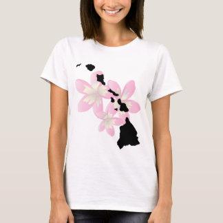 Hawaii Islands Flowers T-Shirt
