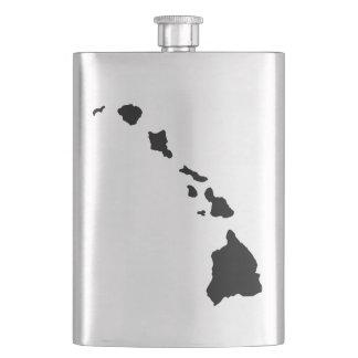 Hawaii Islands Hip Flask