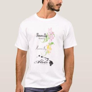 Hawaii Islands Plumeria Flowers T-Shirt