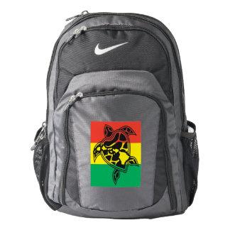Hawaii Islands Reggae Aloha Turtle Backpack
