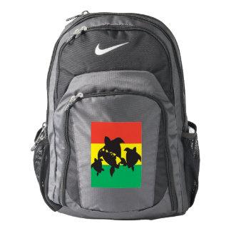 Hawaii Islands Reggae Aloha Turtles Backpack
