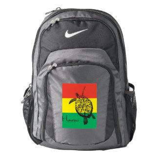 Hawaii Islands Reggae Turtle Backpack