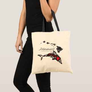 Hawaii Islands Tote Bag