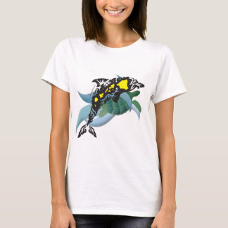 Hawaii Islands, Turtle and Dolphin 200 T-Shirt