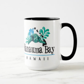 Hawaii Islands, Turtle and Hibiscus Flower Mug