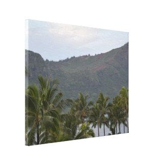 Hawaii Kalapaki Bay on Kauai Canvas Print