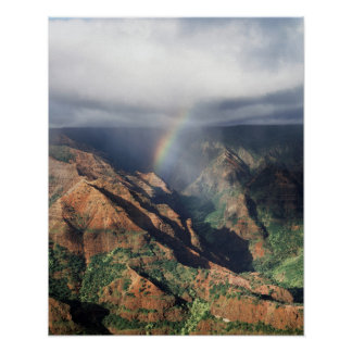 Hawaii, Kauai, Waimea Canyon State Park Poster