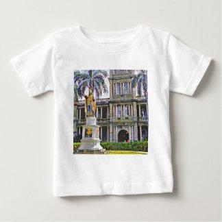 Hawaii King Kamehameha Modern Baby T-Shirt