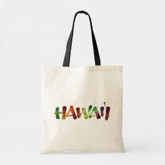 Hawai'i Lettering - Colorful Hawaii Beach Fun Tote Bag