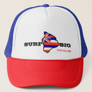 Hawaii Lifeguard Surf: SURF BIG Trucker Hat