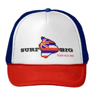 Hawaii Lifeguard Surf: SURF BIG Trucker Hat