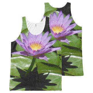 Hawaii Lotus Flower All-Over-Print Tank Top