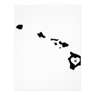 Hawaii Love Letterhead