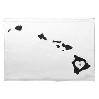 Hawaii Love Placemat