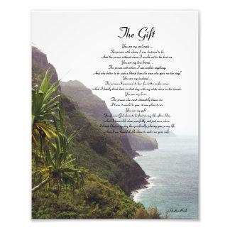 Hawaii Love Poem Photo Print