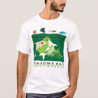 Hawaii Oahu Whale and Dolphin T-Shirt