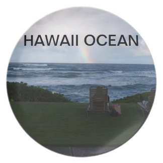 HAWAII OCEAN PARTY PLATES