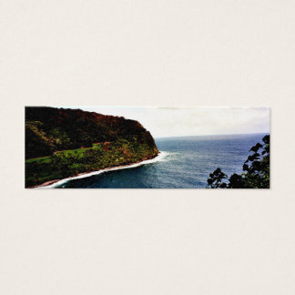 Hawaii Ocean View Mini Business Card