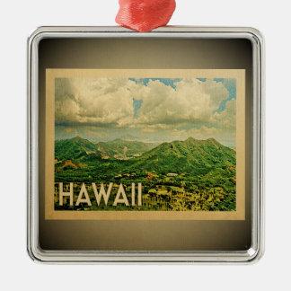 Hawaii Ornament Vintage Travel