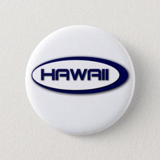 Hawaii Oval Button