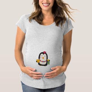 Hawaii Penguin Maternity T-Shirt