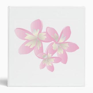 Hawaii Plumeria Flower Note Binder