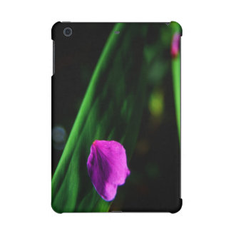 Hawaii-- Plumeria Flower Petal on Leaf iPad Mini Retina Covers