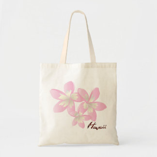 Hawaii Plumeria Tote Bag
