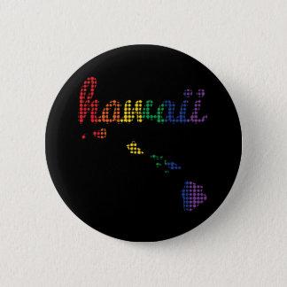 Hawaii Rainbow State 2 Inch Round Button