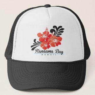 Hawaii Red Hibiscus Flowers Trucker Hat